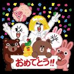 【無料スタンプ速報:隠しスタンプ】LINE ポコポコ スタンプ(2015年12月07日まで)