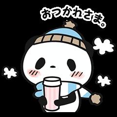 【限定無料スタンプ】お買いものパンダ スタンプ(2015年12月14日まで)