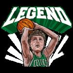 【公式スタンプ】NBA レジェンドプレイヤー スタンプ