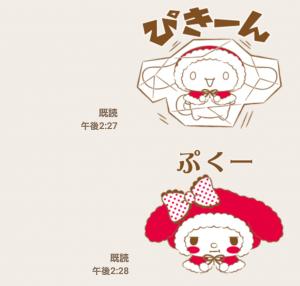 【公式スタンプ】サンリオキャラクターズ ふわもこな冬♪ スタンプ(2016年02月13日まで) (6)