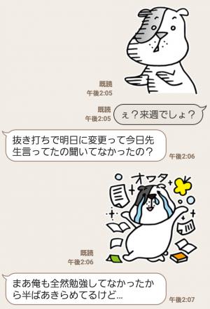 【限定無料スタンプ】ゆるかわ「たま丸」スタンプ(2015年12月28日まで) (8)