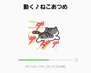【公式スタンプ】動く♪ねこあつめ スタンプ (1)