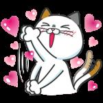 【無料スタンプ速報】タマ川 ヨシ子(猫)新作スタンプ第8弾♪ スタンプ(2016年01月11日まで)