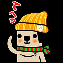 【限定無料スタンプ】アマゾンポチスタンプ(2016年01月04日まで)