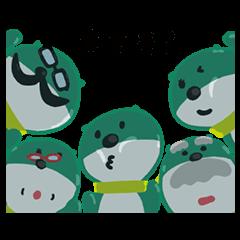 【無料スタンプ速報】三井住友銀行キャラクタースタンプ 第4弾 スタンプ(2016年01月18日まで)