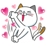 【限定無料スタンプ】タマ川 ヨシ子(猫)新作スタンプ第8弾♪ スタンプ(2016年01月11日まで)