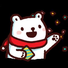 【公式スタンプ】Bac Bac's Diary: It's Winter! スタンプ