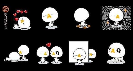 【隠し無料スタンプ】ざっくぅ スタンプ(2016年01月04日まで)
