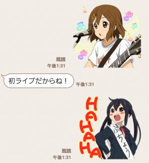 【公式スタンプ】けいおん!! スタンプ (4)