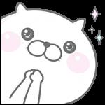 【限定無料スタンプ】ぬこ、ところによりピヨ&GU スタンプ(2016年02月15日まで)