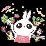 【限定無料スタンプ】開店!うさぎたんレストラン スタンプ(2016年02月22日まで)