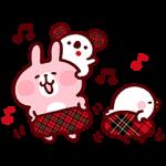 【無料スタンプ速報】カナヘイのピスケ&うさぎ×パルココラボ スタンプ(2016年02月01日まで)