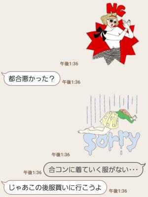【隠し無料スタンプ】サマンサタバサ公式オリジナルスタンプ(2016年05月29日まで) (9)