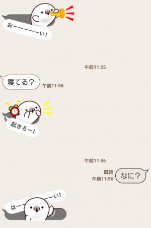 【人気スタンプ特集】吹き出しの中からコンニチハ スタンプ (3)