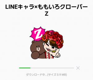 【公式スタンプ】LINEキャラ×ももいろクローバーZ スタンプ (2)