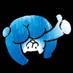 【無料スタンプ速報】火ぐまのパッチョ スタンプ(2016年03月14日まで)