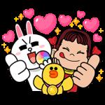 【隠し無料スタンプ】LINE POP2 スタンプ(2016年02月16日まで)