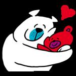 【無料スタンプ速報】クマの親子♪タッフィー&ハッピー☆ スタンプ(2016年04月18日まで)