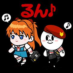 【限定無料スタンプ】LINE レンジャー スタンプ(2016年03月31日まで)