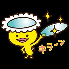 【隠し無料スタンプ】メルスプランのメル助スタンプ(2016年06月14日まで)