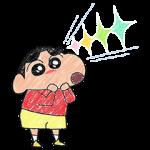 【公式スタンプ】ほのぼの~♪クレヨンタッチしんちゃん スタンプ