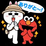 【隠し無料スタンプ】LINEバブル2xセサミストリートコラボ スタンプ(2016年05月18日まで)