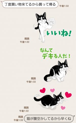 【隠し無料スタンプ】フィリックス「デキるネコさん」スタンプ(2016年07月11日まで) (4)