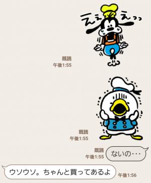 【公式スタンプ】うごく!カナヘイ画♪ミッキー&フレンズ スタンプ (6)