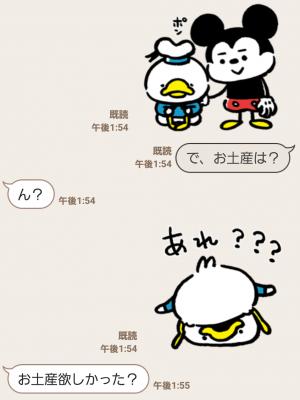 【公式スタンプ】うごく!カナヘイ画♪ミッキー&フレンズ スタンプ (5)