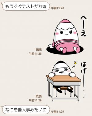 【隠し無料スタンプ】えんぴつの妖精『ピッツ&ピニー』 スタンプ(2016年08月28日まで) (5)