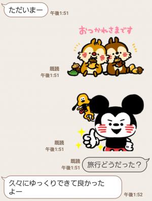 【公式スタンプ】うごく!カナヘイ画♪ミッキー&フレンズ スタンプ (3)