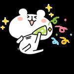 【隠し無料スタンプ】LINE STORE×ゆるくまスタンプ(2016年07月04日まで)