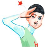 【日替半額セール】五月女ケイ子のごあいさつスタンプ(2016年06月17日分)
