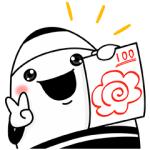 【無料スタンプ速報:隠しスタンプ】えんぴつの妖精『ピッツ&ピニー』 スタンプ(2016年08月28日まで)