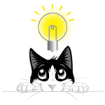 【隠し無料スタンプ】フィリックス「デキるネコさん」スタンプ(2016年07月11日まで)
