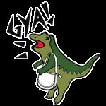 【限定無料スタンプ】Meet Rexy,the COACH dino! スタンプ(2016年07月18日まで)