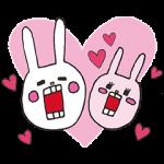 【限定無料スタンプ】ウサギのウーに新キャラ登場! スタンプ(2016年07月25日まで)