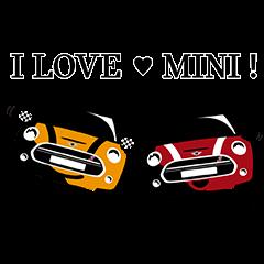 【隠し無料スタンプ】MINI Japan公式スタンプ(2016年09月19日まで)