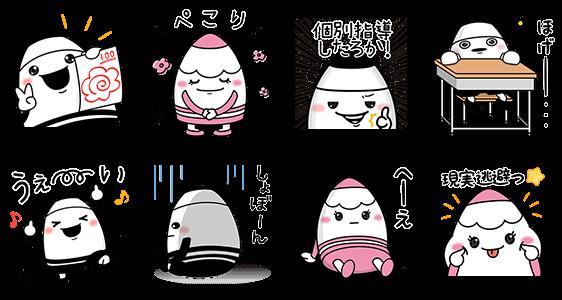 【隠し無料スタンプ】えんぴつの妖精『ピッツ&ピニー』 スタンプ(2016年08月28日まで)