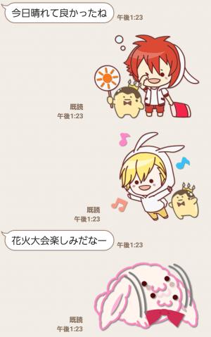 【公式スタンプ】ぷち♪アイドリッシュセブン スタンプ (3)