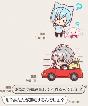 【公式スタンプ】ぷち♪アイドリッシュセブン スタンプ (6)