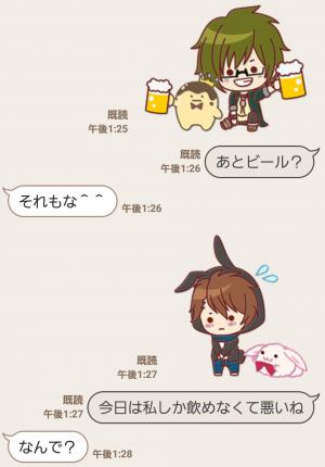 【公式スタンプ】ぷち♪アイドリッシュセブン スタンプ (5)