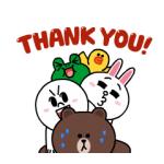 【無料スタンプ速報】いつも一緒☆動く!LINEキャラクターズ スタンプ(2016年08月02日まで)
