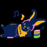 【隠し無料スタンプ】TSUTAYA 選ぼウサギ スタンプ(2016年10月16日まで)