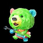 【限定無料スタンプ】サランラップ®の、たぶん、クマ。 スタンプ(2016年08月22日まで)