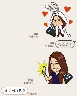 【隠し無料スタンプ】スマ変くんとダレノガレちゃん スタンプ(2016年11月17日まで) (6)