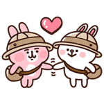 【無料スタンプ速報】LINE バブル2×カナヘイの小動物 スタンプ(2016年09月05日まで)