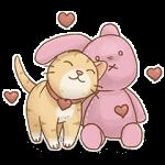【隠し無料スタンプ】ルーレット限定 ネコ日和 スタンプ(2017年02月12日まで)