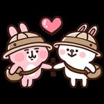 【限定無料スタンプ】LINE バブル2×カナヘイの小動物 スタンプ(2016年09月05日まで)