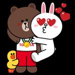 【限定無料スタンプ】TOYOTA×LINE FRIENDS スタンプ(2016年08月29日まで)